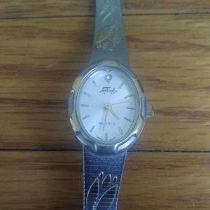 Vintage Faberge Floral Watch